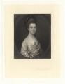 Mrs Egerton, by James Scott, after  Thomas Gainsborough - NPG D1847