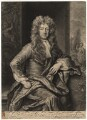 John Cecil, 5th Earl of Exeter, by John Smith, after  Sir Godfrey Kneller, Bt - NPG D1890