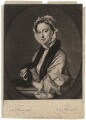 Mrs Faber, by John Faber Jr, after  Thomas Hudson - NPG D1896