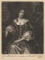 Mary Feilding (née Swift), by Isaac Beckett, after  Sir Peter Lely - NPG D1910