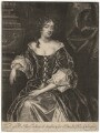Mary Feilding (née Swift), by Isaac Beckett, after  Sir Peter Lely - NPG D1911