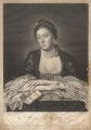 Kitty Fisher, by Edward Fisher, published by  Thomas Ewart, published by  Robert Sayer, after  Sir Joshua Reynolds - NPG D1951