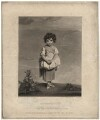 Lady Gertrude Fitzpatrick ('Childhood'), by J. Sanders, published by  James Bulcock, after  Sir Joshua Reynolds - NPG D1960