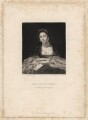 Kitty Fisher, by Samuel William Reynolds, after  Sir Joshua Reynolds - NPG D1962