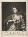 Kitty Fisher, by James Watson, after  Sir Joshua Reynolds - NPG D1964