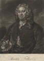 Martin Folkes, by John Faber Jr, after  William Hogarth - NPG D1976