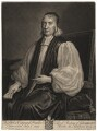 Edward Fowler, by John Smith, after  Sir Godfrey Kneller, Bt - NPG D2006