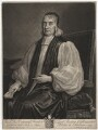 Edward Fowler, by John Smith, after  Sir Godfrey Kneller, Bt - NPG D2007
