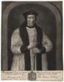 Richard Foxe, by John Faber Sr, after  Unknown artist - NPG D2014