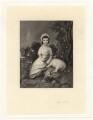 Isabella Franks, by Robert Bowyer Parkes, after  Thomas Gainsborough - NPG D2016