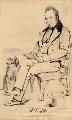 William Carleton, by John Kirkwood, after  C. Grey - NPG D2018