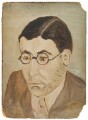 Sir (Arthur) Leigh Bolland Ashton, by Rachel Pearsall Conn ('Ray') Strachey (née Costelloe) - NPG D202