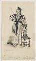 John Cooper as John of Paris, by John William Gear - NPG D2118