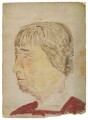 Mary ('Molly') MacCarthy (née Warre-Cornish), Lady MacCarthy, by Rachel Pearsall Conn ('Ray') Strachey (née Costelloe) - NPG D217
