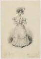 Julia Glover (née Betterton) as Mrs Candour, by John William Gear - NPG D2174