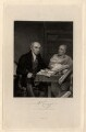 The Revd. W. Carey, D.D. and his Brahmin Pundit (William Carey; Mritunjaya), by Joseph John Jenkins, after  Robert Home - NPG D2180