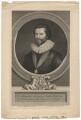 Sir Robert Harley, by George Vertue, after  Peter Oliver - NPG D2193