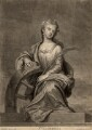 Mrs Cross as St Catherine, by John Smith, after  Sir Godfrey Kneller, Bt - NPG D2237