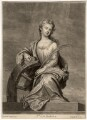 Mrs Cross as St Catherine, by John Smith, after  Sir Godfrey Kneller, Bt - NPG D2238
