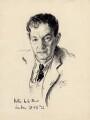 Walter de la Mare, by Walter Tittle - NPG D2259