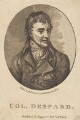 Edward Marcus Despard, by Barlow, published by  Thomas Tegg - NPG D2267