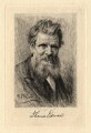 Thomas Edward, by Paul Adolphe Rajon, after  Sir George Reid - NPG D2294
