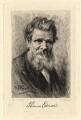 Thomas Edward, by Paul Adolphe Rajon, after  Sir George Reid - NPG D2296