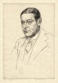 T.S. Eliot, by Edgar Holloway - NPG D2301