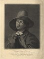 George Fox, by James Holmes, after  Gerrit van Honthorst - NPG D2365