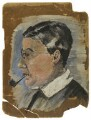 Oliver Strachey, by Rachel Pearsall Conn ('Ray') Strachey (née Costelloe) - NPG D237