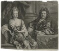 Grinling Gibbons; Elizabeth Gibbons, by John Smith, after  John Closterman - NPG D2430