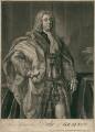 Charles FitzRoy, 2nd Duke of Grafton, by John Faber Jr, after  Jean Baptiste van Loo - NPG D2460