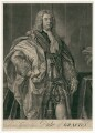 Charles FitzRoy, 2nd Duke of Grafton, by John Faber Jr, after  Jean Baptiste van Loo - NPG D2461