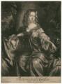 Isabella Fitzroy (née Bennet), Duchess of Grafton, by Isaac Beckett, after  Willem Wissing - NPG D2465
