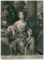 Isabella FitzRoy (née Bennet), Duchess of Grafton, by Jan Verkolje, after  Willem Wissing - NPG D2494
