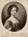 Isabella FitzRoy (née Bennet), Duchess of Grafton, by Pieter Schenck, after  Sir Godfrey Kneller, Bt - NPG D2495