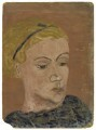 Ursula Margaret Wentzel (née Strachey), by Rachel Pearsall Conn ('Ray') Strachey (née Costelloe) - NPG D250
