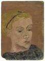 Ursula Margaret Wentzel (née Strachey), by Rachel Pearsall Conn ('Ray') Strachey (née Costelloe) - NPG D250