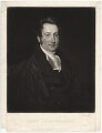 John Grundy, by Samuel William Reynolds, published by  Agnew & Zanetti, after  Henry Wyatt - NPG D2503
