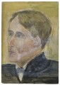 Arthur David Waley, by Rachel Pearsall Conn ('Ray') Strachey (née Costelloe) - NPG D252