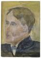 Arthur David Waley, by Rachel Pearsall Conn ('Ray') Strachey (née Costelloe) - NPG D252
