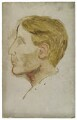Arthur David Waley, by Rachel Pearsall Conn ('Ray') Strachey (née Costelloe) - NPG D253