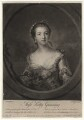 Catherine Travis (née Gunning), by Richard Houston, published by  John Bowles, after  Francis Cotes - NPG D2534