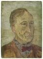 Arthur David Waley, by Rachel Pearsall Conn ('Ray') Strachey (née Costelloe) - NPG D254