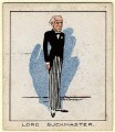 Stanley Owen Buckmaster, 1st Viscount Buckmaster, by Tom Cottrell - NPG D2608