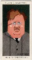 G.K. Chesterton, by Alexander ('Alick') Penrose Forbes Ritchie - NPG D2663