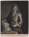 Grinling Gibbons, by John Smith, after  Sir Godfrey Kneller, Bt - NPG D2760
