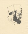 Eric Gill, by Eric Gill - NPG D2774