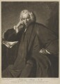 Laurence Sterne, by Edward Fisher, printed for  Robert Sayer, after  Sir Joshua Reynolds - NPG D2980