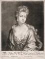 Mariamne Herbert (née Finch), by William Faithorne Jr, after  Johann Kerseboom - NPG D2987
